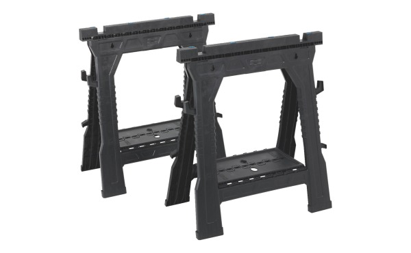 Channellock 27 In. L Folding Sawhorse Set (2-Pack)